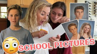 Reacting To School Pictures *High School and Middle School Picture Day*