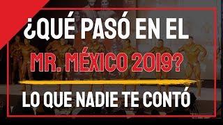Nadie pensó que esto pasaría en el Mr Mexico 2019