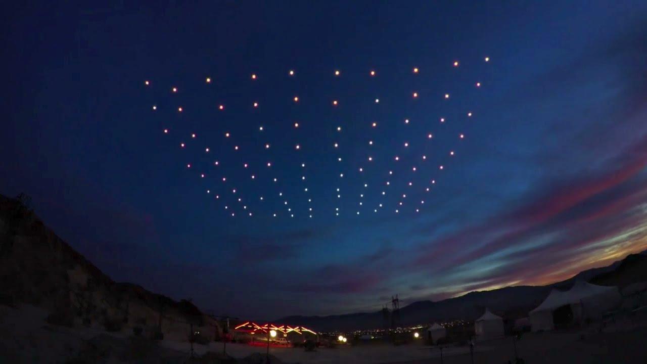 Drones At Night