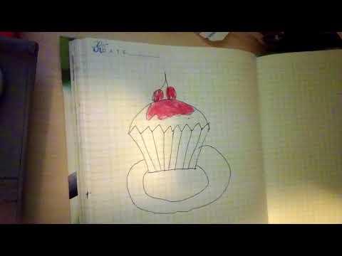 Как нарисовать пирожок для детей