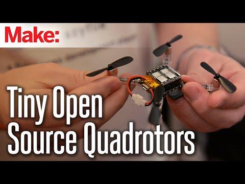 CrazyFlie: Tiny Open Source Quadrotor
