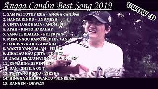 MANTUL !!!Angga Candra cover best lagu 2019 bikin Baper