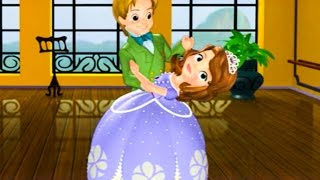 Sofia the First Full Episodes - Sofia Ballroom Waltz - Full Game Episode in English for Kids