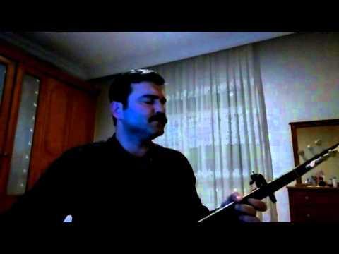 Mehmet Çetinkaya - Bahçada yeşil çınar