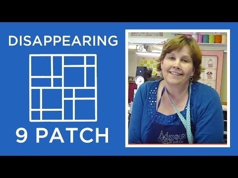 Disappearing Nine Patch Quilt Block Tutorial thumbnail