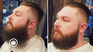 Bushy Beard Trimmed to Well Groomed | Cut and Grind thumbnail