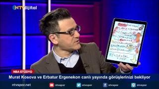 Murat Kosova ve Erbatur Ergenekon NBA Stüdyo'da soru ve görüşlerinizi bekliyor