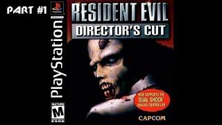 Resident Evil Прохождение за Джилл - Part #1 (PS1 Rus)