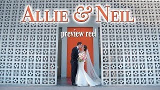 Allie + Neil Wedding Preview at The Parker Palm Springs