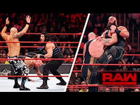 WWE Monday Night RAW 20/2/2017 Highlights HD -