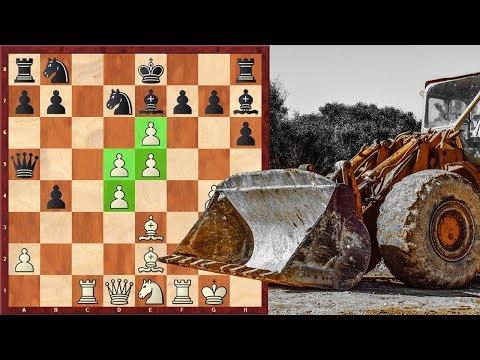 "Chess Magic! ""Bulldozer Pawns"" Destroy Everything On Their Way"