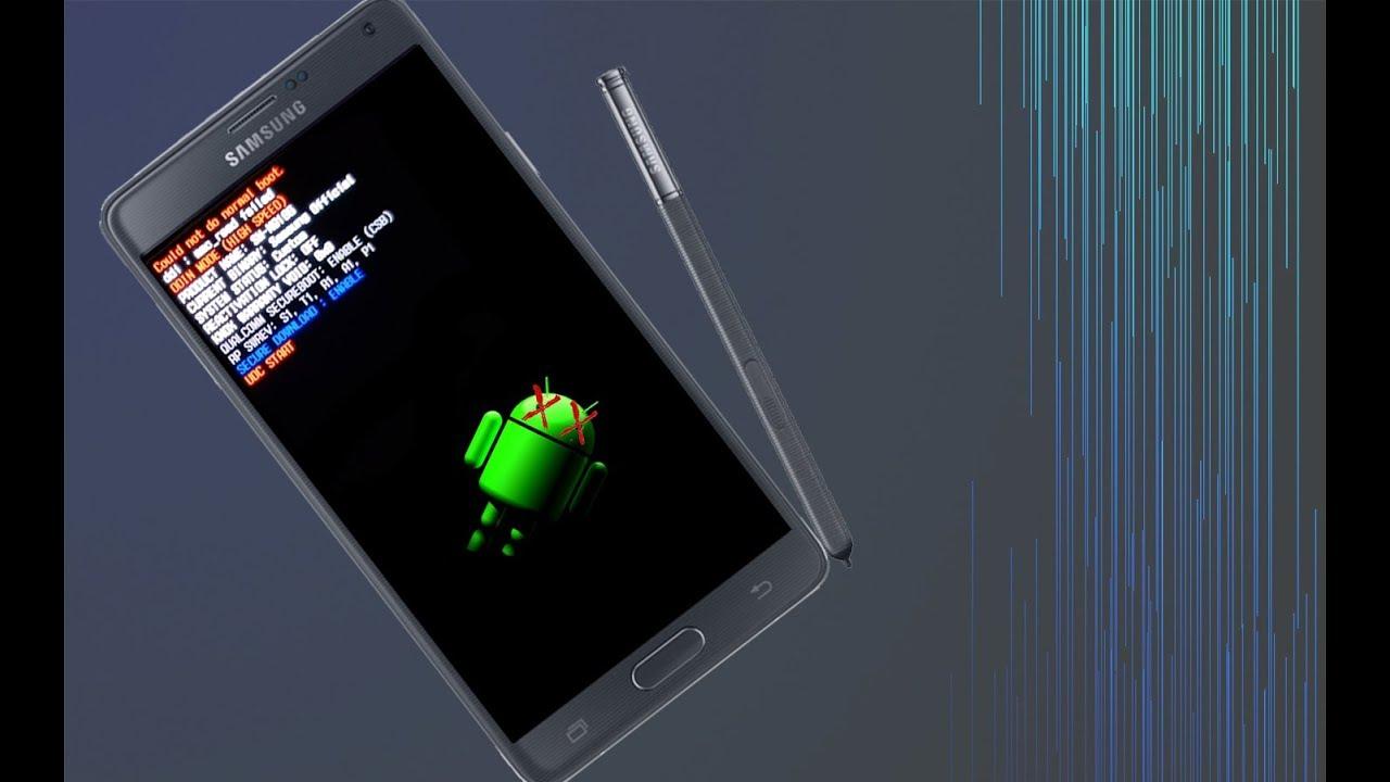 Samsung Galaxy Note 4 eMMC read error temporary fix