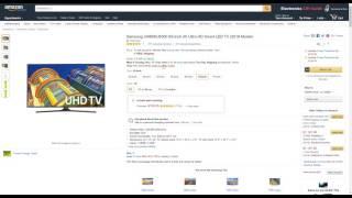 Amazon Price Drop! Samsung UN65KU6300 65 Inch 4K 2016 Model Save $$$