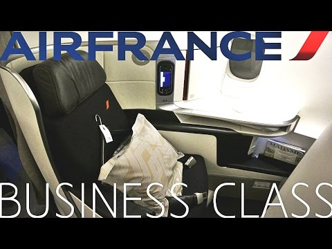Air France BUSINESS CLASS Best & Beyond Los Angeles to Paris|Boeing 777-200ER
