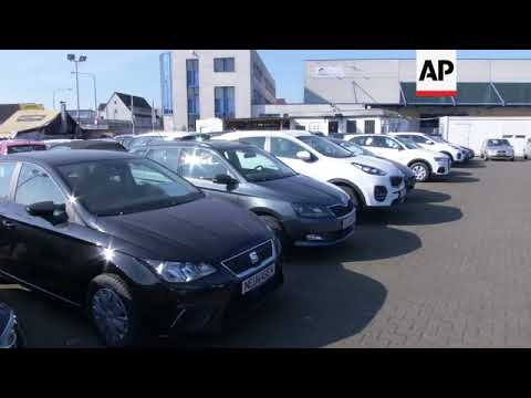 Frankfurt car dealer reacts to Germany diesel cars ban