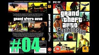 ROCKSTAR GAMES APRESENTA GAMEPLAY GTA SAN ANDREAS PC MISSÃO 04 LIMPANDO A VINZINHAÇA  #04