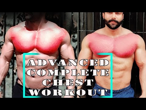 Advanced CHEST Workout | Complete CHEST Workout