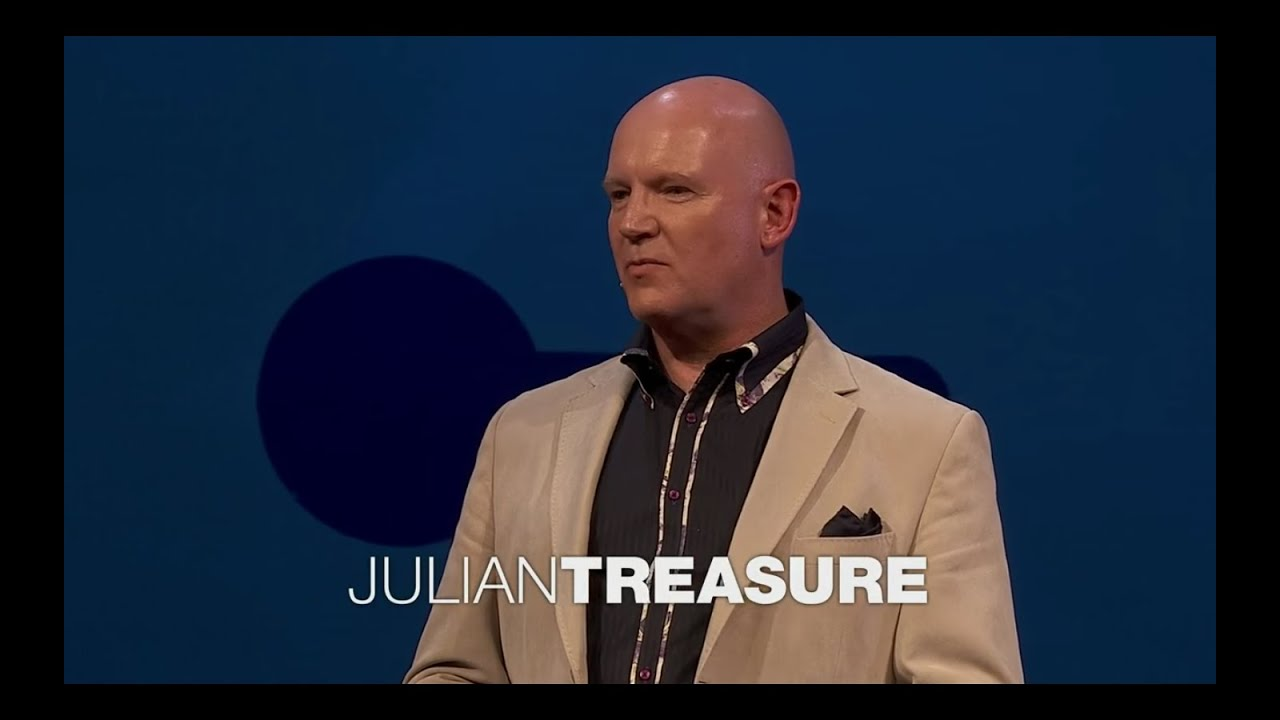 julian treasure ted summary Julian's five ted talks have been watched more than 40 million times his latest, how to speak so that people want to listen, is in the top 10.