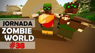 Unturned - Jornada ZOMBIE WORLD #38: Entramos na Área das Operações Especiais!