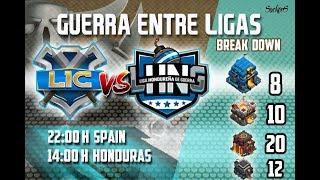 LIC VS. LHNG. 50 VS 50. Clash of Clans
