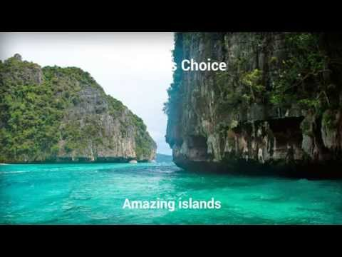 Travelers choice :Amazing islands