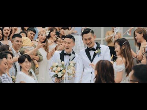 [婚禮錄影] 翡麗詩莊園 小銘 & 小玄 / 小銘小玄夫夫日常 證婚/宴客