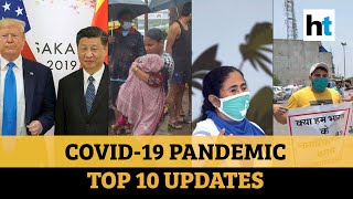 Covid update: AIIMS nurses protest; USA blocks Chinese flights; HCQ drug doubt