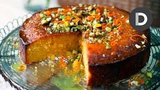 How To Make... Orange Polenta Cake! Gluten Free Recipe...