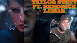 MY FIRST TIME HEARING TAYLOR SWIFT | BAD BLOOD FT KENDRICK LAMAR REACTION