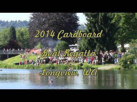 2014 Cardboard Boat Regatta in Longview, WA