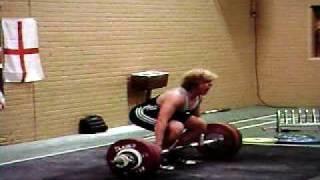 Peter barnett British record 141 kg Clean and Jerk @ 90 kg (94)