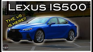 homepage tile video photo for The Lexus IS500 (& it's Spectacular V8) Sounds Like the Best Value In Sports Sedans Today - One Take