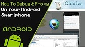 Proxlife (intercepting proxy for Android based devices) - YouTube
