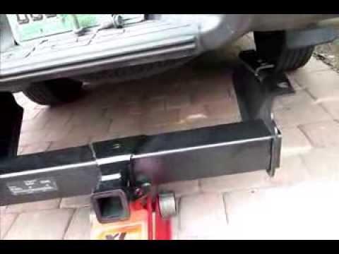 Trailer Hitch Install Silverado Sierra Obs Gmt 400 88 98