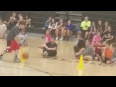 Lakeforest middle school hoops for heart Part1