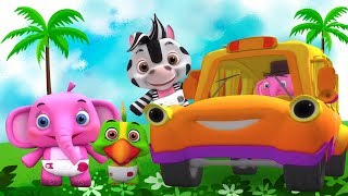 Wheels On The Bus   Song for Kids   Kindergarten Nursery Rhymes for Babies by Little Treehouse