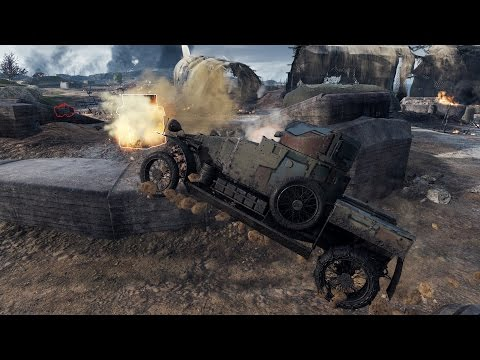 World of Tanks Lanchester Armoured Car | 4.200+ DMG | 23 kills - The Somme