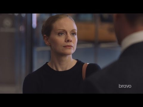 Suits  Harvey and Paula's conversation about Donna