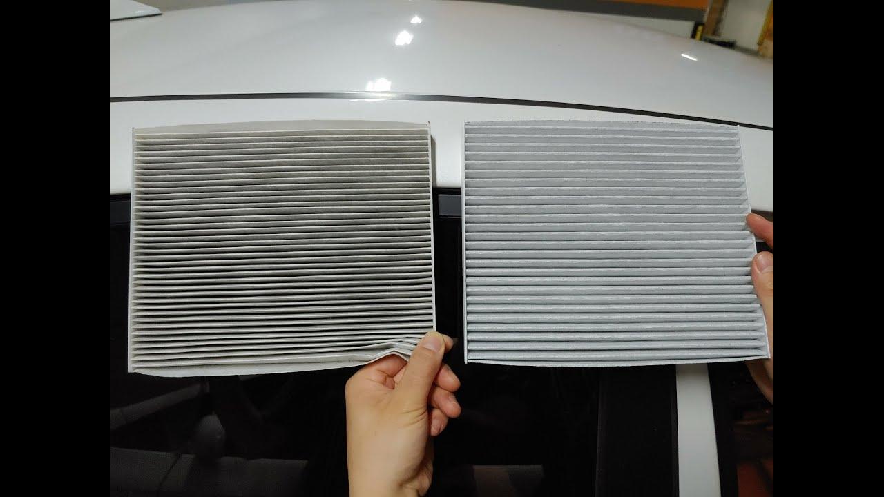 기아차 K3 자동차 에어컨 필터 교체 방법 How to replace KIA K3 Air conditioner filter