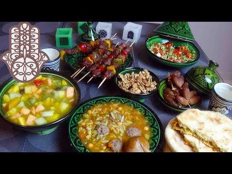 menu-du-ftour-du-ramadan-facile