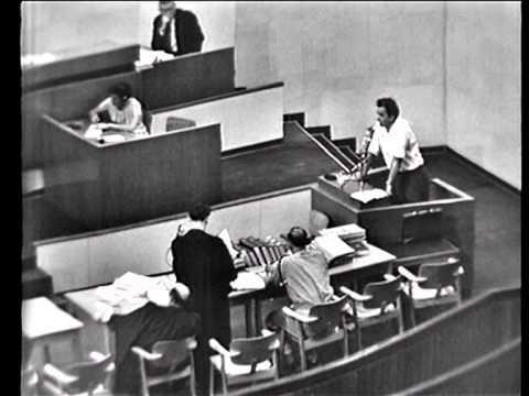 Eichmann Trial - Session No. 46 , 53 , 62 , 64 , 68
