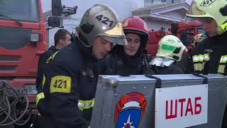 """Пожар в автосервисе на Ярославском шоссе, дом 2 """"Б"""" ликвидирован"""
