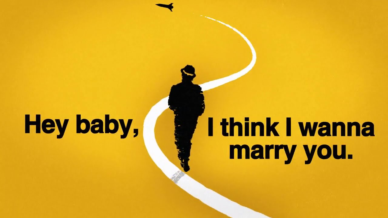 Bruno Mars - Marry You [Official Lyric Video]