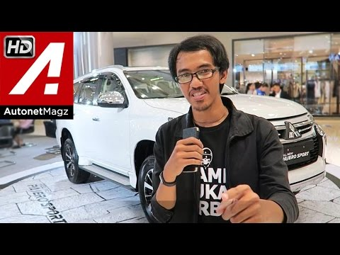 FI Review All New Mitsubishi Pajero Sport 2016 Indonesia by AutonetMagz