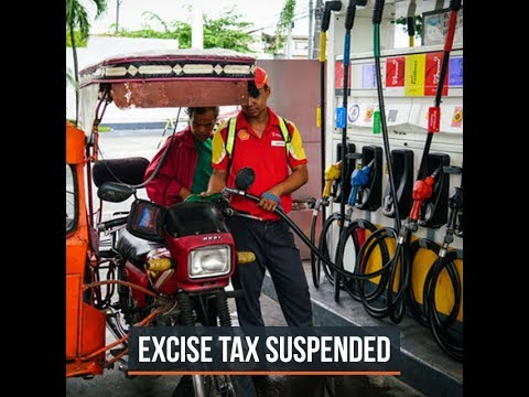 Duterte to suspend fuel tax increase under TRAIN law