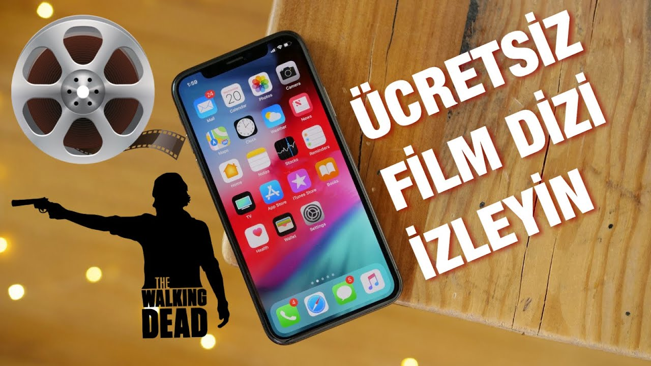 iphone da film izleme