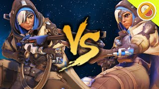 6 VS 6 ANA! NEW BUFF! Overwatch Gameplay (Funny Moments)