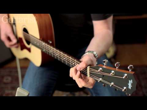 Taylor Big Ba TaylorE acoustic guitar review demo
