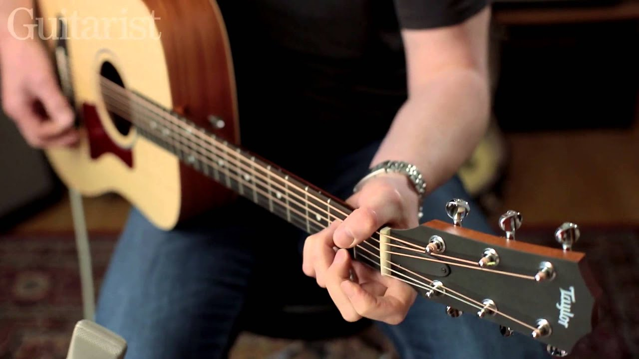 Taylor Big Baby E Acoustic Guitar Review Demo