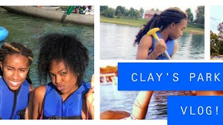 CLAY'S PARK RESORT VLOGG🏊🏽‍♀️🚣🏽‍♀️ | JUMPING IN 12 FT WATER 💧 🤭|
